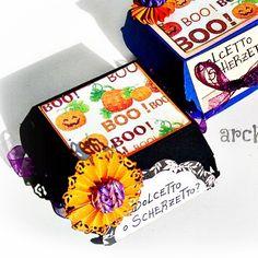 Maratona di #tutorial in vista di #halloween !   Ecco le #scatoline giuste per mettere le caramelle e i dolcetti di halloween !! Le trovate come Scatoline Machalloween Scrapbooking Tutorial sul mio canale #youtube a questo link: https://youtu.be/sduy69kNfNA Buon divertimento !! . . #archidee #becreative #bepositive #polymerclay #scrapbooking #scrap #box #handmade #supporthandmade #instatutorial #youtuber #diy #cardboard #scrapbook #instacreation #craft #instacraft #paper #scatola #boxes…