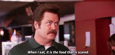 He is manly as hell. | Community Post: 22 Reasons Ron Swanson Should Be Our Next President