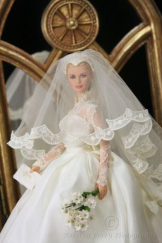 "Grace Kelly Silkstone ""The Bride"" 1 by think_pink1265, via Flickr"