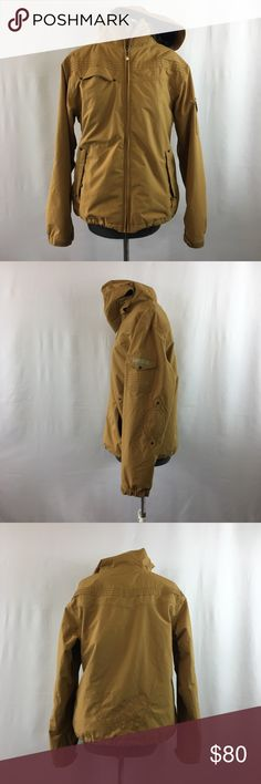 Burton Winter Jacket- Mustard Yellow Beautiful Burton jacket.  Color mustard yellow  Size Large- approximate measurements in photos.   This jacket is in very good condition. Burton Jackets & Coats
