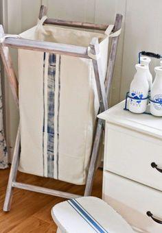 Como hacer un cesto de ropa sucia reversible