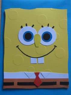 Spongebob card