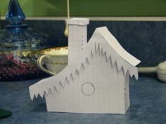 new Putz house patterns   I make a new pattern in paper befo…   Flickr