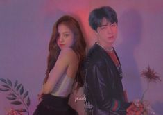 #jinsoo #bangpink Kpop Couples, Wattpad Stories, Korean Couple, Blackpink And Bts, Pop Idol, Sweet Couple, Sooyoung, Mamamoo, Kpop Groups