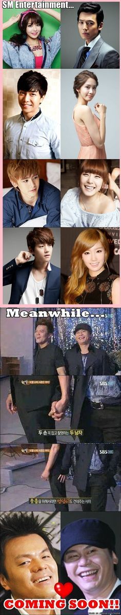 Big 3 Dating Scandals... | allkpop Meme Center