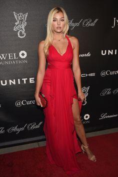 Model @ Rachel Hilbert - Gabrielle's Angel Foundation Hosts Angel Ball 2015 in NYC