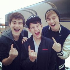 Before you exit! Riley, Toby and Connor <3 but where is Braiden? lol but these guys are like my fave 3, then Braiden is meh 4th