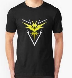 Shirt for Sale: Pokemon Go - Team Instinct by Kaiserin