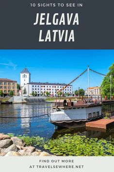 10 interesting sights to see in Jelgava, Latvia from its museums to its riverfront #travel #latvia #baltic #europe #traveltips #destination #wanderlust Wooden Castle, European Travel, Travel Europe, Cultural Capital, Pedestrian Bridge, Solo Travel, Day Trip, Nice View, Dream Vacations