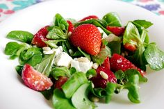 Caprese Salad, Fruit Salad, Cobb Salad, Saveur, Puddings, Salads, Desserts, Healthy Salads, Chopped Salads