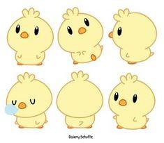 Chibi Chick by Daieny.deviantart.com on @DeviantArt