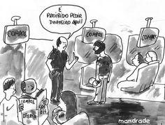 Tentando emular o estilo dos cartuns do The New Yorker