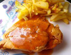 de sucre i sal: pechugas de pollo a la cerveza