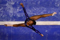 Gabby Douglas - beaming with confidence
