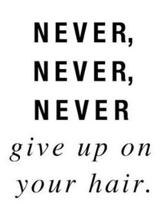 Never Give Up!Natural Hair Care for kids | Go to www.naturalhairki... to see more tips, posts and pics like this! | natural hair | protective styles | detangling | natural hair kids | hair care tips | natural hair information | locs | natural hair inspiration | ponytails | braids | beads | caring for natural hair | natural hair tip | natural hairstyles for kids | children's hair | moisturizing hair | healthy hair | damaged hair | hairstyle ideas | shea moisture | carols daughter | shea…