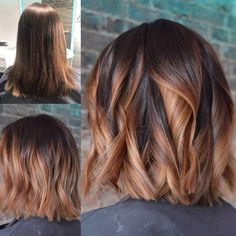 trending lovely hair color trends for women 2020 13 Ombré Hair, Hair Day, Haircut And Color, Balayage Hair, Pretty Hairstyles, Hair Lengths, Hair Trends, Dyed Hair, Hair Inspiration