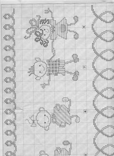 Cross-stitch Children at Play, part 6.. color chart on part 7 & 8...  Gallery.ru / Фото #56 - 62 - 633-10-66