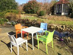 Breazz Veloso Design Tuinstoel, 10 kleuren