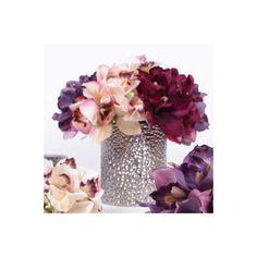Found it at Wayfair - Luxury Silk Cymbidium Orchid Bouquet Flower Floral Arrangements