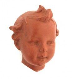 Wandmaske Keramik