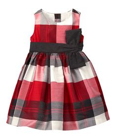 Toddler Girl Crimson Plaid Plaid Dress by Gymboree Cute Little Girl Dresses, Baby Girl Dresses, Pretty Dresses, Baby Dress, Boys And Girls Clothes, Sewing Kids Clothes, Babies Clothes, Toddler Fashion, Kids Fashion