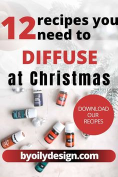These are our top holiday and Christmas scented diffuser recipes! What you need to try as a combination in your diffuser during the months of November and December! Try these 12 amazing Christmas inspired diffuser recipes for your next holiday party. Your house will smell amazing. The best essential oil recipes for your diffuser to help promote calm and healthy living in your home. #DiffuserRecipes #HealthyLiving #ChristmasDiffuser