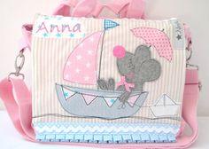 Kindergartentaschen - ♥ Kindergartenrucksack & Kindergartentasche ♥ - ein Designerstück von na-ni-lu bei DaWanda