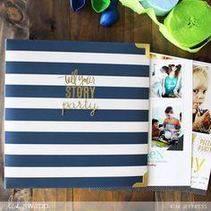 Kim Jeffress for Heidi Swapp Storyliine Birthday album