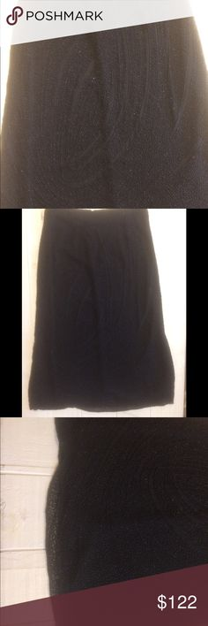 NWT Emma Black Hand Beaded Scalloped Hem Skirt This NWT Emma Black Beaded skirt is a one of a kind type of item for your closet. It is simply stunning to behold. The beadwork is some of the best I have ever seen. It features a scalloped hem, and is sure to please. Emma Black Skirts Midi
