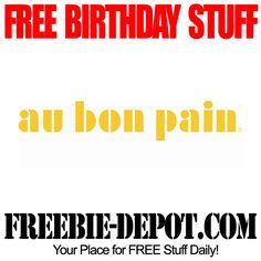 BIRTHDAY FREEBIE – Au Bon Pain - FREE BDay Sandwich or Salad