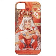 Alice in Wonderland King of Hearts iPhone 5 Case