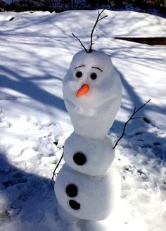 """Olaf from the movie """"Frozen"""""""