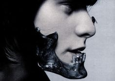Metal jaw piece, Shaun Leane for Alexander McQueen