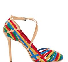 Love this: Mariachi Woven Suede Sandals @Lyst