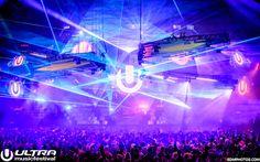 The U always shines through   #ultra2016 Ultra Music Festival