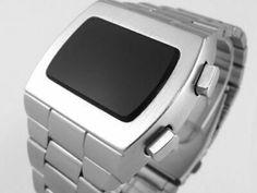 Old Vintage Style Led Lcd Digital Rare Retro Mens Watch 12 & 24 Hr Retro Watches, Old Watches, Vintage Watches, Watches For Men, Retro Fashion, Vintage Fashion, Vintage Style, Fashion Women, High Fashion