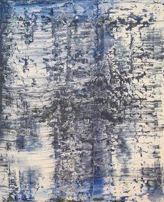 "Gerhard Richter. ""Eis"" and ""Eisberg""."