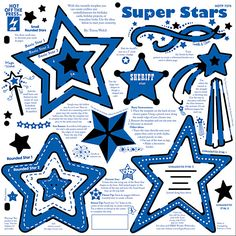 Супер Звезда Шаблон