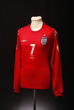 England Football Shirt (Away, 2004)