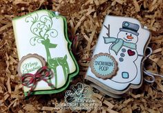Tic Tac holder tutorial. Paper Crafts by Candace: Jaded Blossom Stamp Release Blog Hop