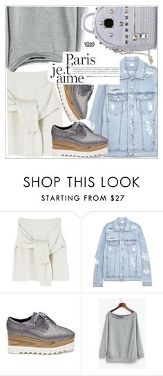 """""""Yoins"""" by teoecar ❤ liked on Polyvore featuring SJYP, yoins, yoinscollection and loveyoins"""