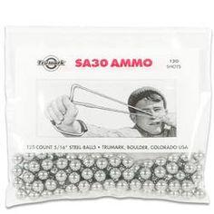 """Trumark Slingshot Ammo Steel Ball 120 Count 5/16"""" Diameter"""