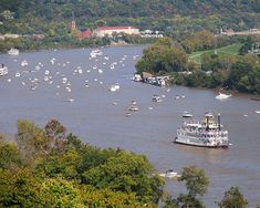 Ohio River is only one of more than 250000 rivers within the United States.