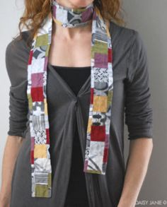 Free pattern: Boho Chic Scarf · Quilting | CraftGossip.com