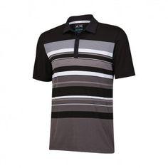353136c7217c4 Polo Climacool Sport Performance Stripe. Polo de golf Adidas fabricado  Polyester y Elastano. Estilo