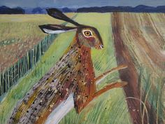Cley Hare by Mary Sumner