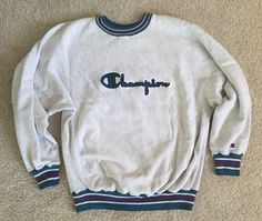 Champion sports crewneck vintage sweatshirt Reverse Weave throwback retro sporting goods baseball football basketball