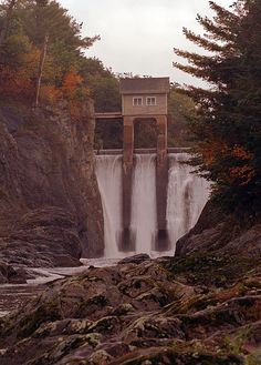Winooski River Electrical Plant Dam, Vermont