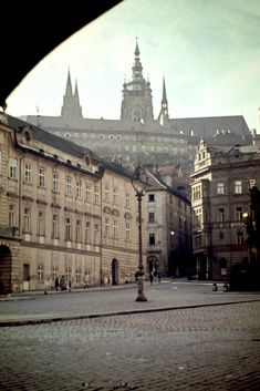 Praha 1946 /lnemni/lilllyy66/ Find more inspiration here: http://weheartit.com/nemenyilili/collections/88742485-travel