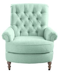 Abbott & Costello Chair in mint Green Furniture My New Room, My Room, Sweet Home, Abbott And Costello, Maine Cottage, Piece A Vivre, New Furniture, Mint Green Furniture, Vintage Furniture